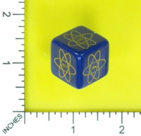 Dice : MINT58 UNKNOWN ATOMIC ENERGY DICE