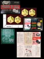Dice : MINT45 ATLANTIC PLAYING CARDS WHEEL N DEAL