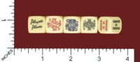 Dice : MINT61 JOHN PLAYER AND SON PLAYERS PLEASE POKER