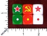 Dice : MINT49 DICE OF WAR FLAMES OF WAR CUSTOM ALLIES USSR