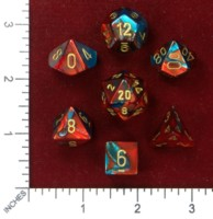 Dice : MINT46 CHESSEX 2015 POLY COLORS 06