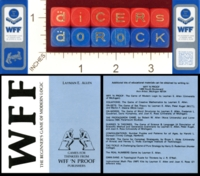 Dice : MINT22 WFF N PROOF THE BEGINNERS GAME OF MODERN LOGIC 01