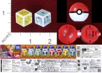 Dice : MINT40 TOMY POKEMON KING DICE SET 2 01