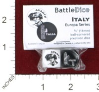 Dice : MINT44 BATTLESCHOOL BATTLEDICE EUROPA SERIES ITALY