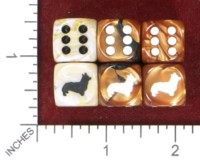 Dice : MINT49 JSPASSNTHRU WELCH CORGI