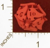 Dice : MINT25 SHAPEWAYS AEGIDIAN TOCRAX TEN SIDED DIE 01