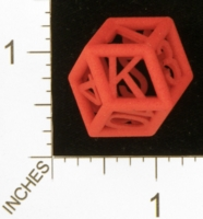 Dice : MINT25 SHAPEWAYS MCTRIVIA PIPED CARD DIE 01