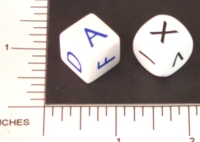 Dice : NON NUMBERED OPAQUE ROUNDED SOLID 02
