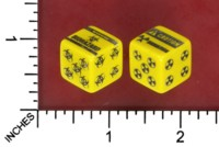 Dice : MINT52 LITTLECLUUS BIOHAZARD RADIATION