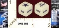 Dice : MINT21 USAOPOLY JENGA COWBOYS