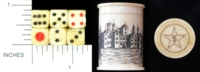 Dice : MINT1 UNKNOWN SCRIMSHAW 02