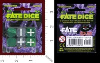 Dice : MINT38 EVIL HAT PRODUCTIONS FATE DICE ELDRITCH DICE