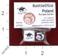 Dice : MINT44 BATTLESCHOOL BATTLEDICE EUROPA SERIES POLAND