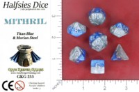 Dice : MINT52 GATE KEEPER GAMES HALFSIES DICE MITHRIL
