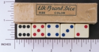 Dice : MINT1 ELK IVORY 5 THREE QUARTERS INLAID 01