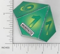 Dice : PAPER D10 MICROTACTIX 08
