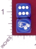 Dice : MINT27 CHESSEX CUSTOM FOR JSPASSNTHRU POLICE HAT AND HANDCUFFS 01