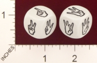 Dice : MINT19 KOPLOW AMERICAN SIGN NUMBERS 01