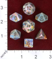 Dice : MINT40 CHESSEX 2014 POLY COLORS 04