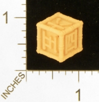 Dice : MINT28 SHAPEWAYS WILLLAPUERTA JAPANESE NUMBERS DIE 01