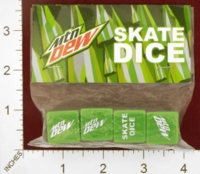 Dice : MINT25 MOUNTAIN DEW SKATE DICE 01