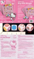 Dice : MINT18 PRESSMAN BIG ROLL BINGO HELLO KITTY 01