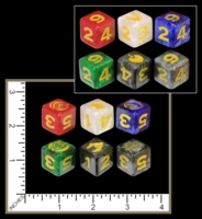 Dice : MINT35 UNKNOWN POSSIBLY THREE KINGDOMS OR DYNASTY WARRIORS