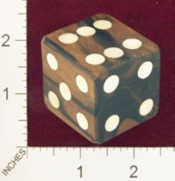 Dice : MINT22 UNKNOWN MOTHER OF PEARL PIPS 01