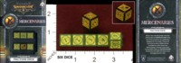 Dice : MINT35 PRIVATEER PRESS Q WORKSHOP WARMACHINE FACTION DICE MERCENARIES