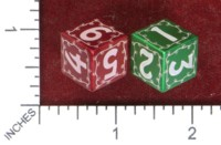 Dice : MINT49 JAVELIN DICE WORKS CHRISTMAS