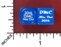 Dice : MINT52 LITTLECLUUS CHESSEX 2016 DMC NITE OUT