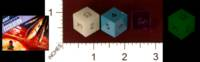 Dice : MINT32 GAMESCIENCE CUSTOM FOR FLYING BUFFALO NUCLEAR WAR NUCLEAR ESCALATION 01