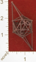 Dice : MINT27 SHAPEWAYS FRIZ STICK DICE D12 01
