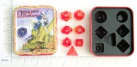 Dice : MINT2 EM4 DRAGON BONES RED