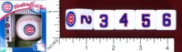 Dice : MINT46 MASTERPIECES SHAKE N SCORE CHICAGO CUBS