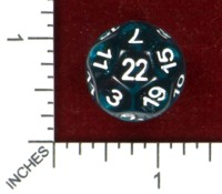 Dice : MINT47 IMPACT MINIATURES D22