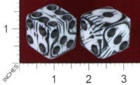 Dice : MINT38 PINKERTON DESIGNS SKULL