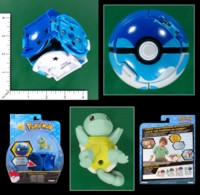 Dice : MINT55 TOMY POKEMON THROW N POP DIVE BALL SQUIRTLE