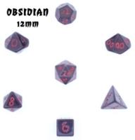 Dice : STONE MULTI CRYSTAL CASTE OBSIDIAN 01