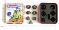 Dice : MINT2 EM4 DRAGON BONES BLACK