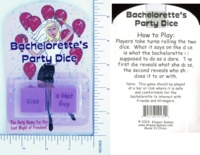 Dice : MINT13 KHEPER 02 BACHELORETTE PARTY DICE