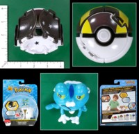 Dice : MINT55 TOMY POKEMON THROW N POP ULTRA BALL FROAKIE