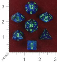 Dice : MINT40 CHESSEX 2014 POLY COLORS 06