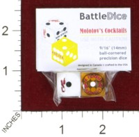 Dice : MINT44 BATTLESCHOOL BATTLEDICE MOLOTOVS COCKTAILS