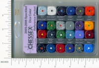 Dice : MINT1 CHESSEX 2005 2006 SPECKLED REF 01