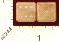 Dice : MINT20 ACE PRECISION D6 COPPER ROUNDED 01