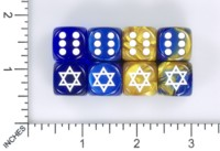Dice : MINT58 JSPASSNTHRU STAR OF DAVID