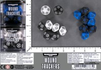 Dice : MINT59 GAMES WORKSHOP WARHAMMER 40000 WOUND TRACKERS 02