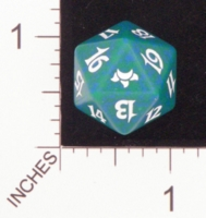 Dice : D20 OPAQUE ROUNDED SPECKLED MTG LIFE COUNTERS EVENTIDE 05