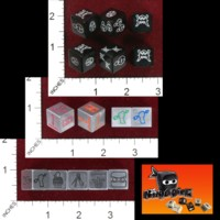 Dice : MINT41 GREENBRIER GAMES NINJA DICE IRON NINJA
